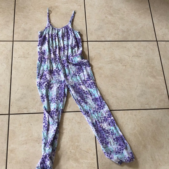 Other - Purple and blue kids jumpsuit!